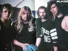 SLAYER - MAGAZINE CENTRESPREAD POSTER (REF D4)