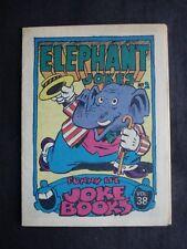 1970 SCANLENS *FUNNY LI'L JOKE BOOKS* VOLUME 38