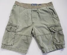 American Rag CIE Men's Army Green Cargo Shorts Size 32 Regular Fit 100% Cotton