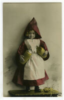 c 1911 Children Chld Kid Cute CUTE LITTLE GIRL photo postcard