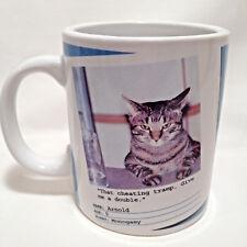 Bad Cat Mug Give Double Humorous Funny