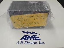 Allen Bradley Stop Button W/box NO/NC 800H-1HA4R 3/4 KO Ser. B