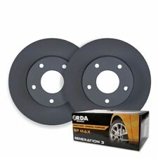 FRONT DISC BRAKE ROTORS+PADS for Mercedes W246 B180D B200D 1.8TD *295mm* 2012 on