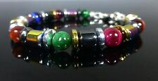 Magnetic Hematite Bracelet Rainbow Tiger's Eye