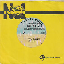 """Tina Turner - One of the Living - 7"""" single"""