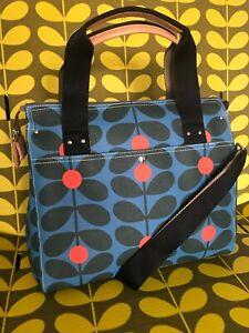 Orla Kiely Zip Messenger Handbag Bag