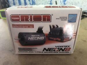 Team Orion vortex neon 8 brushless motor and ESC