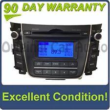 2013 - 2016 Hyundai Elantra OEM AM FM MP3 Bluetooth Single CD XM SAT Radio