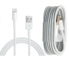 USB Lightning Data Sync Cable Charger Lead For Apple iPhone 6 5 5S 5C iPad iPod