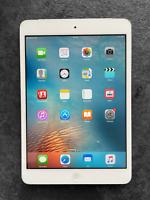 Apple iPad Mini 16GB A1454 1st Gen - Wi-Fi + Cellular (Unlocked) - White/Silver