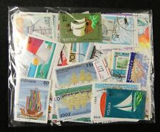 Worldwide Cancelled Stamps 190-200 Pieces in Different -- Ships