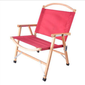 Wooden Folding Chair Outdoor Leisure Convenient Camping Fishing Foldable Sedia