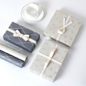 Gift Wrapping Paper Business Package Box Book Wrapping Decor Party DIY Supplies