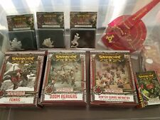 Warmachine khador lot new zoktavir doom reavers fenris winter guard