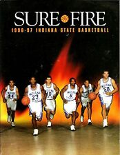 1996-97 Indiana State Sycamores Men's Basketball Media Guide