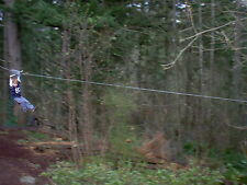 Zip Line 100' Kit, Trolley, Cable Ride, High Quality Zipline, 12th Year on Ebay!
