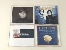 LOTTO/STOCK - ELTON JOHN - 4 CD SINGOLI - FEATURING ERIC CLAPTON - OTTIME COND.