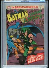 Brave and the Bold #85 CGC 8.5 OWTW New Green Arrow Costume