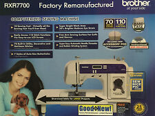 Brother XR7700 XR 7700 70 Stitch Sewing Quilting Machine +25 YR Limited Warranty