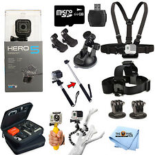 GoPro HERO5 Session Edition All In 1 PRO Accessory KIT Bundle For All Occasions