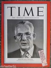 Time Magazine  January 22, 1951  Senator Paul Douglas  VINTAGE ADS