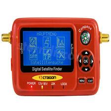 SAT FINDER Messgerät SF-518 LCD & UHD 4K USB Spektrum Digital TV satfinder