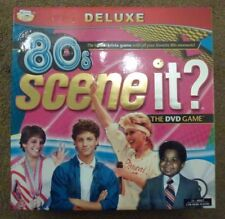 80s SCENE IT? DELUXE THE DVD BOARD GAME, THE RADICAL TRIVIA GAME FAVORITE  80s M