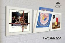 Art Vinyl Play & Display Flip Frame - Triple pack White - UV Protection