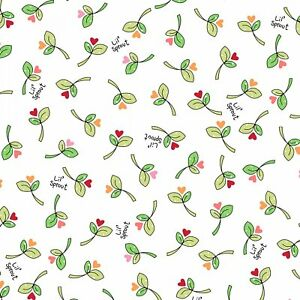 Lil' Sprout Flannel Too by Kim Christopherson Fabric 100% Cotton