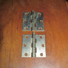 Pair of Vintage Stanley Metal Hinges, 2 1/2 Inch