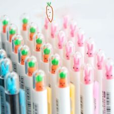 Cute Rabbit Carrot Automatic Mechanical Pencil Writing School Office Suppy 0.5mm