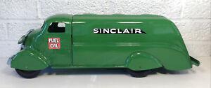 "Vintage Marx Studebaker Large Sinclair Tanker Truck Gas Oil 17"" Restored Nice"