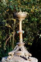 traumhaft schöner Kerzenleuchter 48cm Messing Neoklassizismus 2300g Sammlerstüc