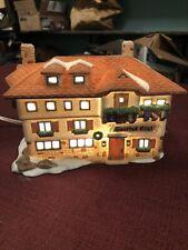 Pre-owned Department 56 Alpine Village Series Gasthof Eisl (Hotel) #65404
