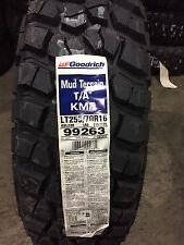 4 New LT 255 70 16 BFGoodrich Mud Terrain T/A KM2 8 Ply Tires