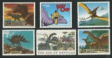 Dinosaurs Tyrannosaurus Rex Brontosaurus Stegosaurus Alley Oop Us Stamp Set Mint
