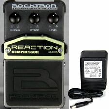 Rocktron Reaction Compressor Pedal w/ 9v power supply