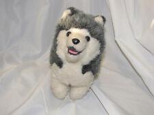 DAKIN PILLOW PETS STUFFED PLUSH SIBERIAN HUSKY PUPPY DOG VINTAGE 1978