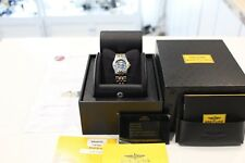 Breitling Galactic 30 Ladies B71340 Two-toned Blue Face Full Box & Papers