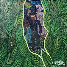 """Baron Samedi, Grande Brigitte"" by Frantz Zephirin - Haitian Art - 16 in x 16 in"