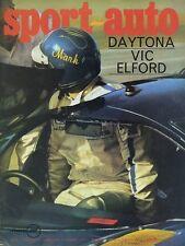SPORT AUTO n°86 03/1969 24h DAYTONA MONTECARLO LOTUS EUROPE S2 AVEC ENCART