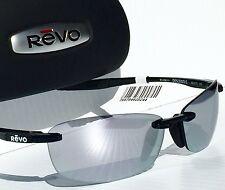 6261c29f7d NEW  REVO DESCEND E BLACK w POLARIZED Mirror grey Lens Sunglass 4060 01 ST