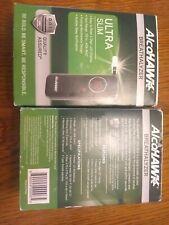 2 (two) Alcohawk Breathalyzer Ultra Slim units
