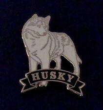 Husky Dog Breed Lapel Pin Siberian