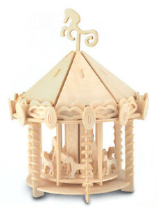 Carousel     QUAY Woodcraft Construction Kit FSC