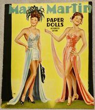 1944 MARY MARTIN Paper Doll Book - SAALFIELD #368 - RARE UNCUT ORIGINAL