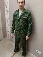 Russian army uniform suit Flora camouflage color VSR 93 size 52 height 6 (US 42)