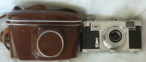 CONTAX IIa + Tessar 1:3.5  f=50mm