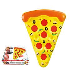 Pizza Luftmatratze 180cm Wasser XXL Wasserliege Schwimminsel, NEU
