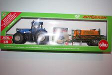 Siku Farmer 8511 1:32 Traktor New Holland mit Amazone Feldspritze OVP